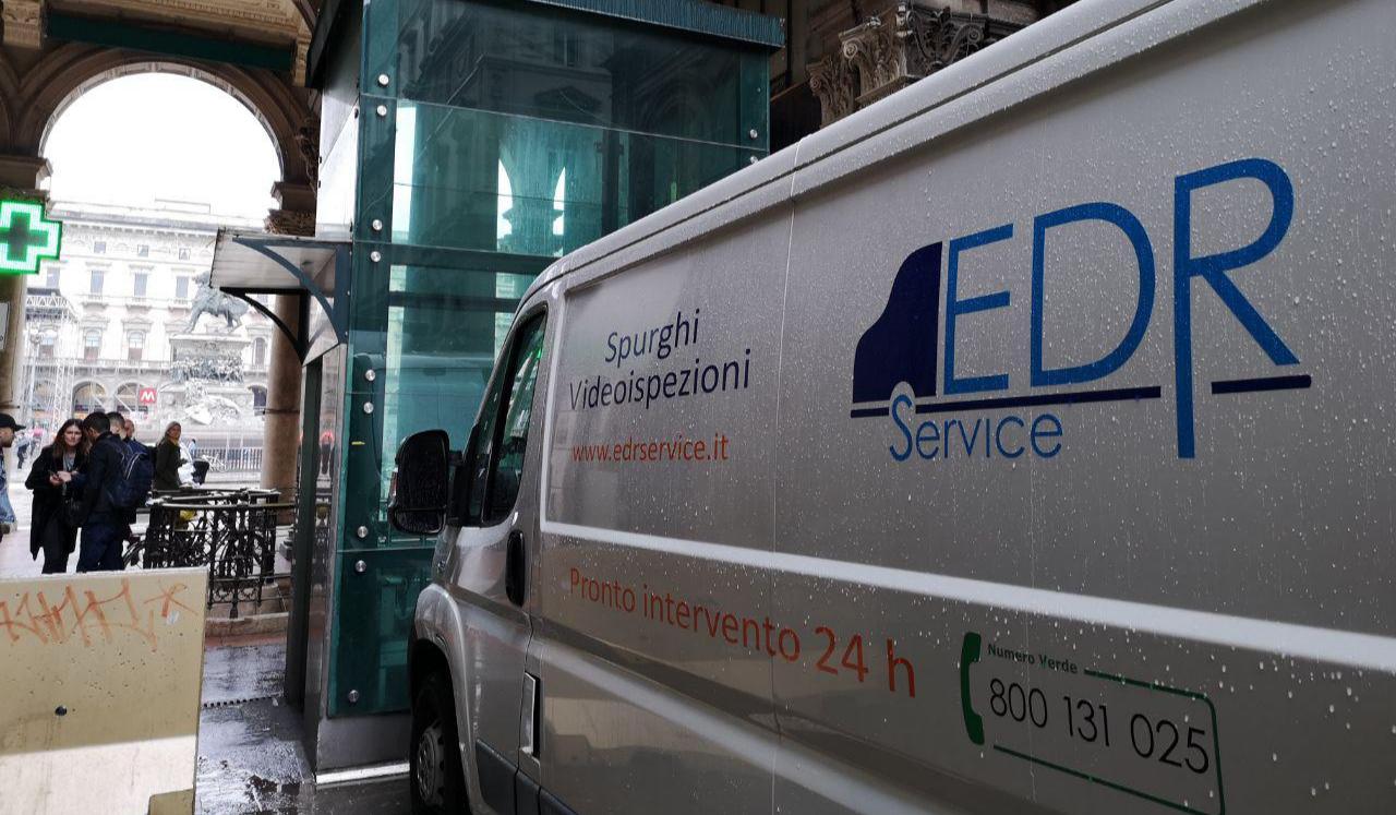 videoispezione fognature milano EDR Service