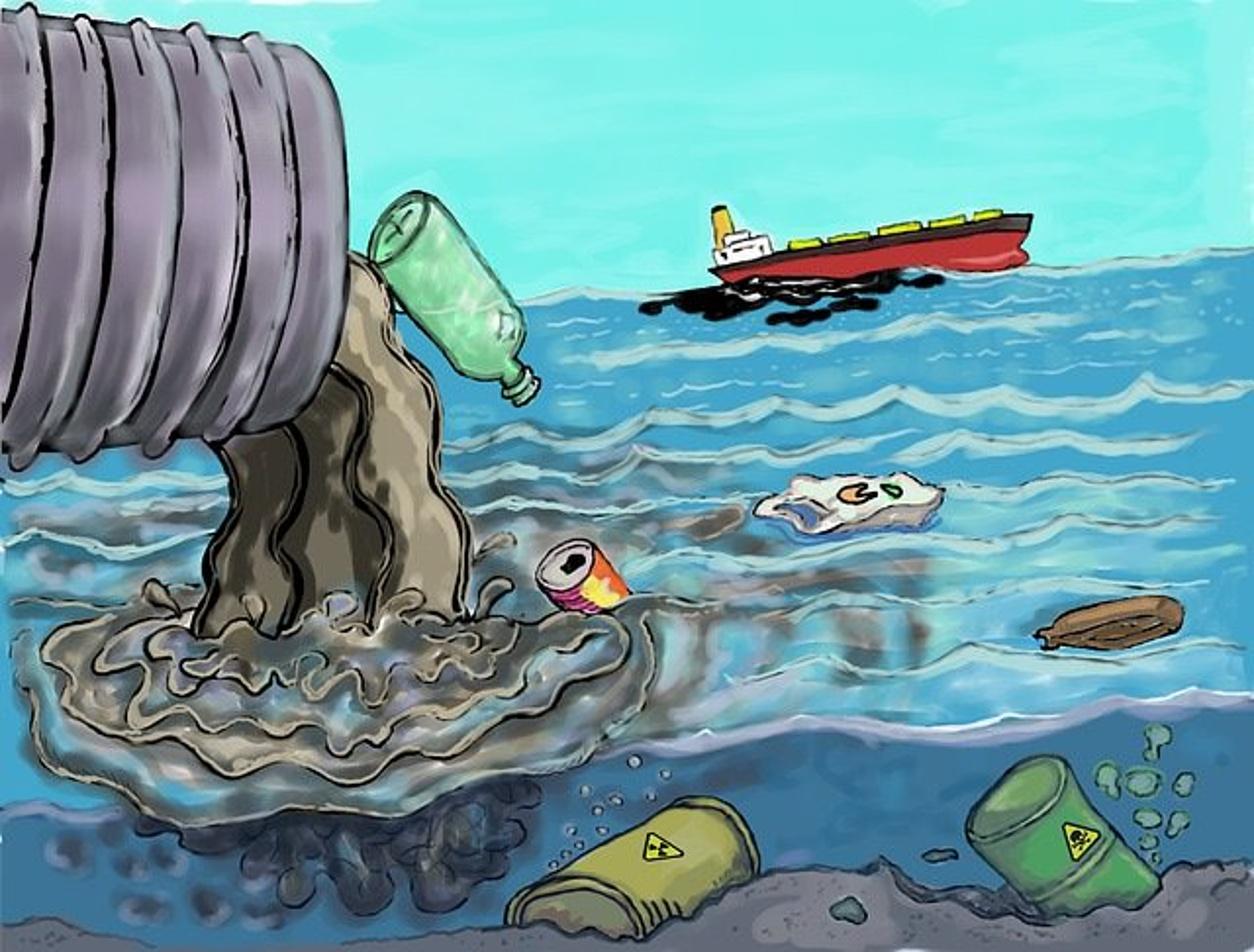 scarico rifiuti mare